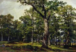 An Oak Forest | Ivan Ivanovich Shishkin | Oil Painting