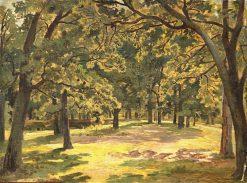 An Oak Forest | Ivan Ivanovich Shishkin | Oil Painting