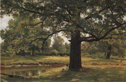 Oaks in Peterhof | Ivan Ivanovich Shishkin | Oil Painting