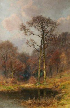 Woodland Pool | Josiah Clinton Jones | Oil Painting