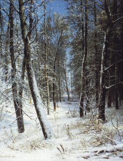 Forest in Winter | Ivan Ivanovich Shishkin | Oil Painting