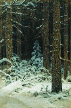 Winter | Ivan Ivanovich Shishkin | Oil Painting