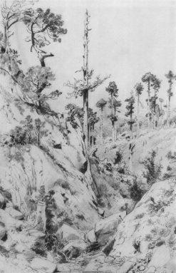 Crimean Landscape | Ivan Ivanovich Shishkin | Oil Painting