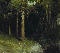 Forest | Ivan Ivanovich Shishkin | Oil Painting