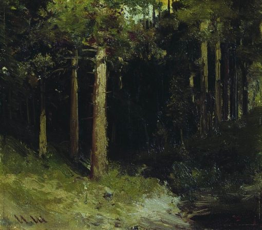 Forest | Ivan Ivanovich Shishkin | Oil Painting