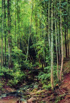 Aspen Grove | Ivan Ivanovich Shishkin | Oil Painting