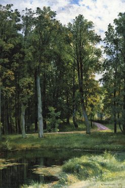 Forest Path | Ivan Ivanovich Shishkin | Oil Painting