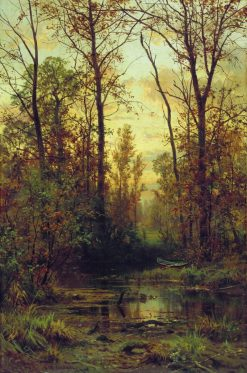 Autumn | Ivan Ivanovich Shishkin | Oil Painting