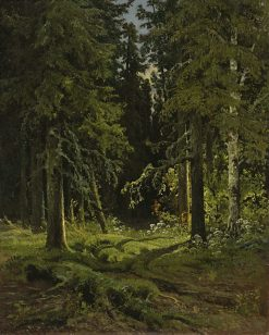 Wooded Landscape | Ivan Ivanovich Shishkin | Oil Painting