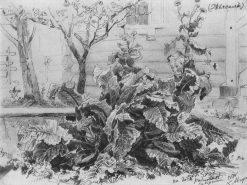 Herbs | Ivan Ivanovich Shishkin | Oil Painting