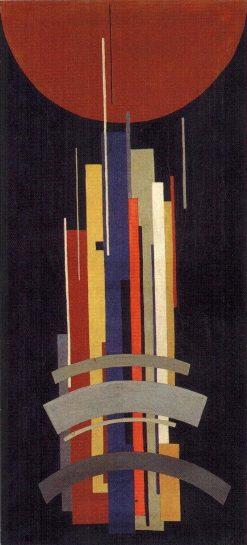 Vertical Axes in Movement | Ilya Chashnik | Oil Painting