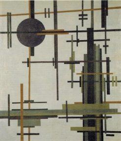 Composition | Ilya Chashnik | Oil Painting