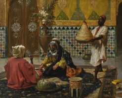 An Afternoon Repast | Rudolf Ernst | Oil Painting