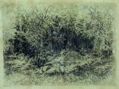 Anthill | Ivan Ivanovich Shishkin | Oil Painting