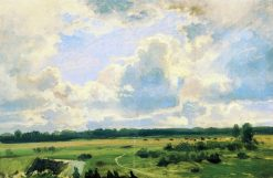 Cloudy Day | Ivan Ivanovich Shishkin | Oil Painting