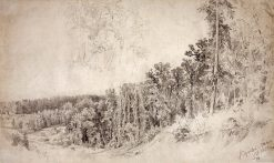 Trees | Ivan Ivanovich Shishkin | Oil Painting