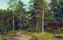 Autumn Landscape | Ivan Ivanovich Shishkin | Oil Painting