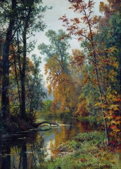Autumn in Pavlovsk | Ivan Ivanovich Shishkin | Oil Painting
