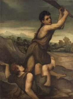 Cain and Abel | Andrea Schiavone | Oil Painting