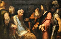 Christ before Pilate | Andrea Schiavone | Oil Painting