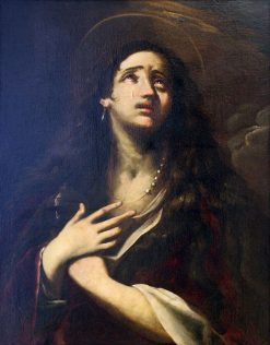 The Penitent Mary Magdalene | Giacinto Brandi | Oil Painting