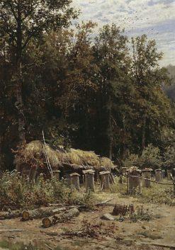 Apiary | Ivan Ivanovich Shishkin | Oil Painting