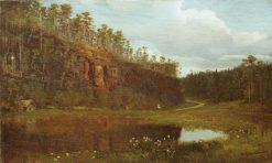 Before Sunset | Ivan Ivanovich Shishkin | Oil Painting