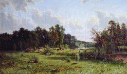Midday | Ivan Ivanovich Shishkin | Oil Painting