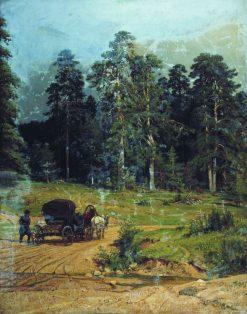 Polessie | Ivan Ivanovich Shishkin | Oil Painting