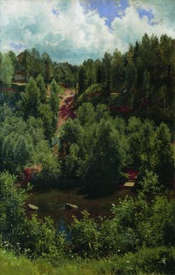 Forest After the Rain | Ivan Ivanovich Shishkin | Oil Painting