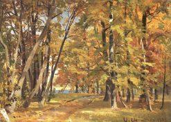 Early Autumn | Ivan Ivanovich Shishkin | Oil Painting