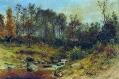 Forest Stream | Ivan Ivanovich Shishkin | Oil Painting