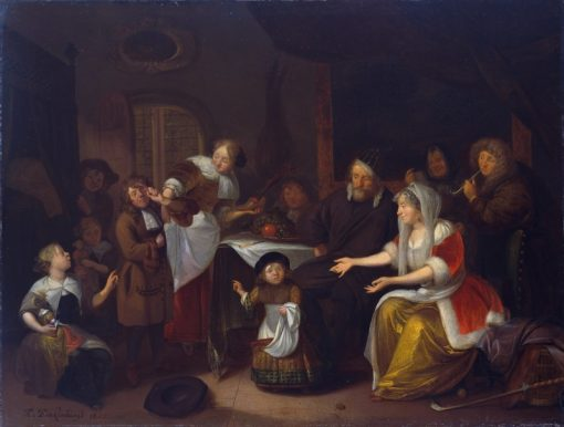 Feast of St Nicholas | Richard Brakenburg | Oil Painting