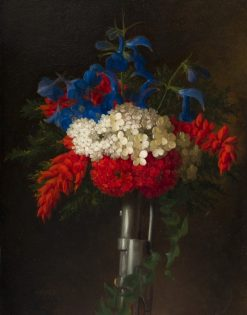 Patriotic Bouquet | George Henry Hall | Oil Painting