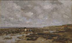 Clam-Pickers in Villerville | Wilhelm von Gegerfelt | Oil Painting