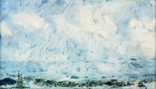 Flower by the Shore | August Strindberg | Oil Painting