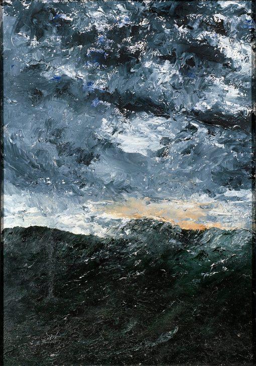 Seascape   August Strindberg   Oil Painting