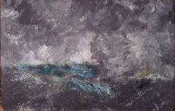 Storm in the Skerries | August Strindberg | Oil Painting