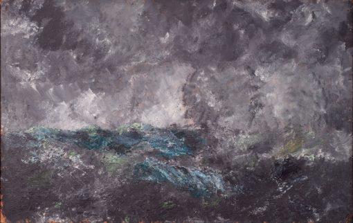Storm in the Skerries | August Strindberg | Oil Painting