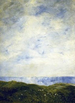 Coastal Landscape | August Strindberg | Oil Painting