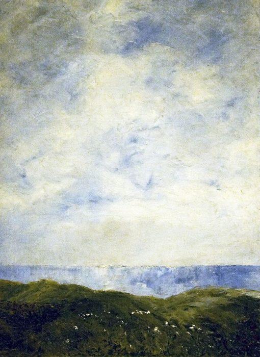 Coastal Landscape | August Strindberg | Oil Painting