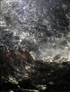 Seascape with Rocks | August Strindberg | Oil Painting