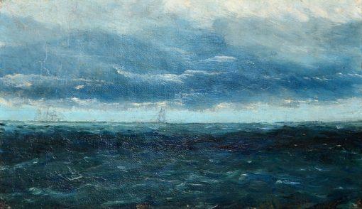Seglare | August Strindberg | Oil Painting