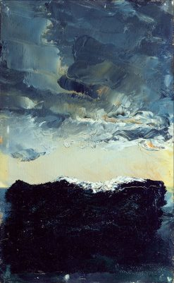 The Wave | August Strindberg | Oil Painting