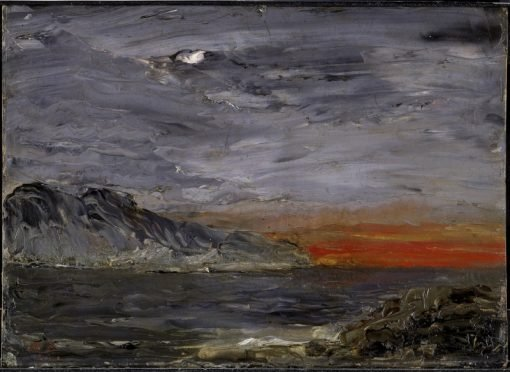 Sunset | August Strindberg | Oil Painting
