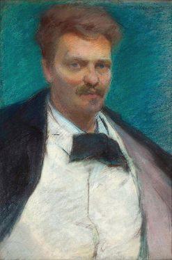 Portrait of August Strindberg | Wladyslaw Slewinski | Oil Painting