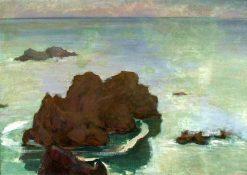 Rocky island | Wladyslaw Slewinski | Oil Painting