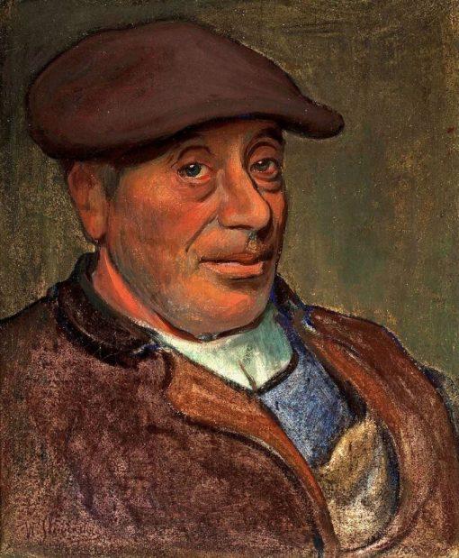 Breton sailor | Wladyslaw Slewinski | Oil Painting