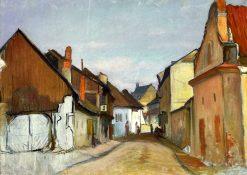 Lubelska Street in Kazimierz | Wladyslaw Slewinski | Oil Painting