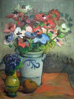 Anemones | Wladyslaw Slewinski | Oil Painting